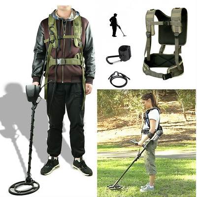 Metal Detecting Harness Sling for Underground Detectors Swing Bungee Universal