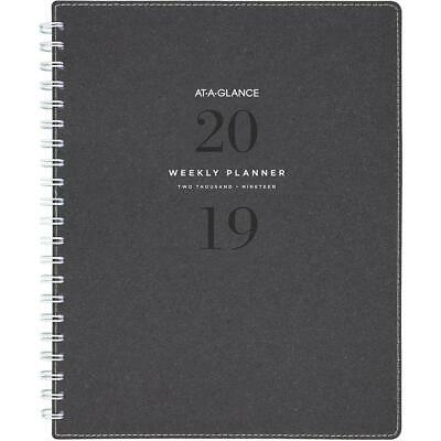 At-a-Glance 2019 Signature Collection Diary Weekly Planner A5 - Grey