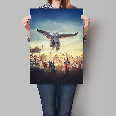 Dumbo Movie Poster 2019 Film Disney A2 A3