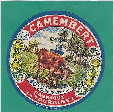 J1081 Fromage Camembert Touraine Vache