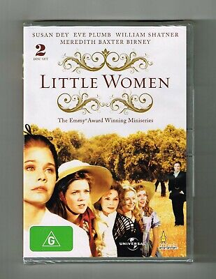 Little Women Mini-Series Dvd 2-Disc Set Brand New & Sealed