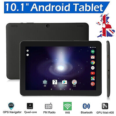 """10.1"""" Inch Tablet PC HD Android 6.0 Google Quad-core Dual Camera 32GB Wifi CL"""