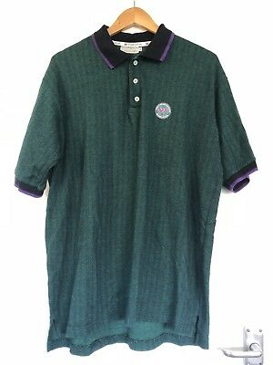 Wimbledon Tennis The Championships Green Polo Shirt XXL Extra Extra Large