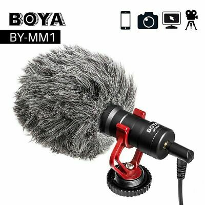 BOYA BY-MM1 Video Mic Microphone Condensor For iPhone Samsung Huawei DSLR Camera
