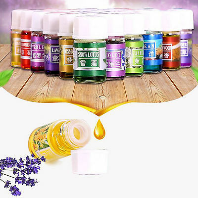 US ~ 36 PCS Various Scents Water-soluble Aromatherapy Essential Oil 3ml Set