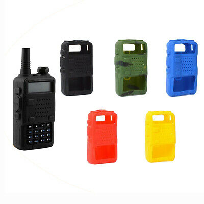Protect Case Handheld Radio Cover Holster Rubber For BaoFeng UV-5R BF-F8+UV