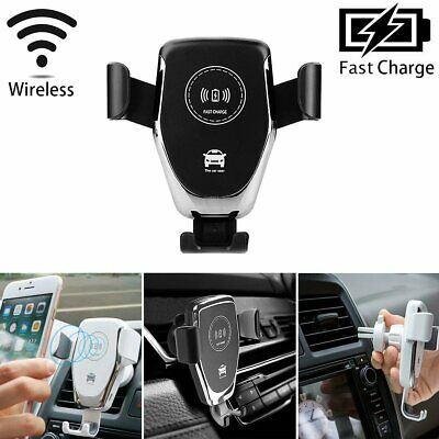 Fast Kinetisches Ladegerät Wireless Air Vent Mount Car Charger Phone Holder