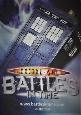 Dr Who Battles In Time Annihilator Trading Cards