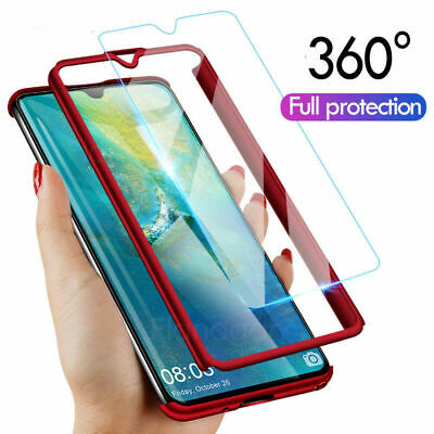 360° Full Body Shockproof Protection Armor Case Cover For Huawei P30 Pro Lite