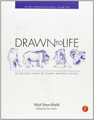 Drawn to Life: 20 Golden Years of Disney Master, Stanchfield, Hahn, (E PB..