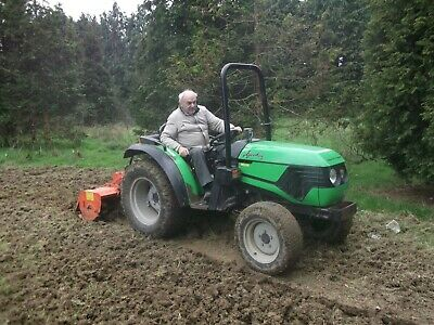 Agrokid Deutz Fahr 35 Compact Tractor Rotavator And Flail Mower Not Included