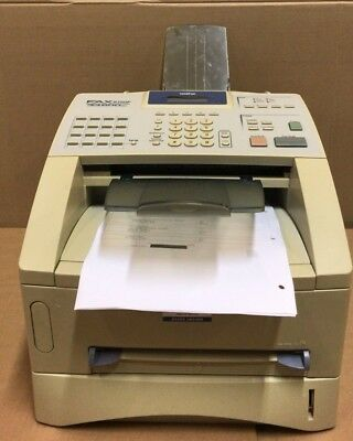 FAX8360PU1 - Brother FAX-8360P A4 Mono Laser Fax Machine