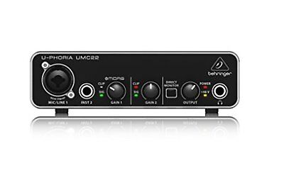 Behringer u-phoria umc22 with Tracking number New from Japan