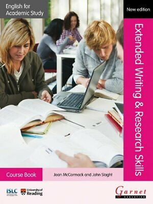 English for Academic Study: Extended Writing & , McCormack, Slaght Paperback..
