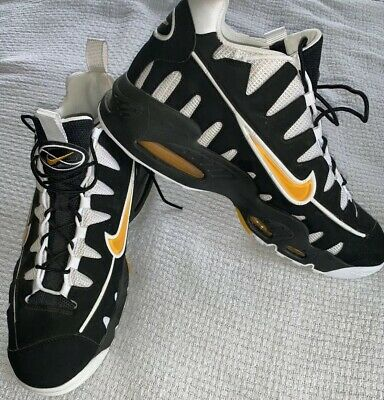 competitive price 0569a 8f050 Men s Vintage Nike Air Max NM 429749-071 Black Gold Nomo Size 13