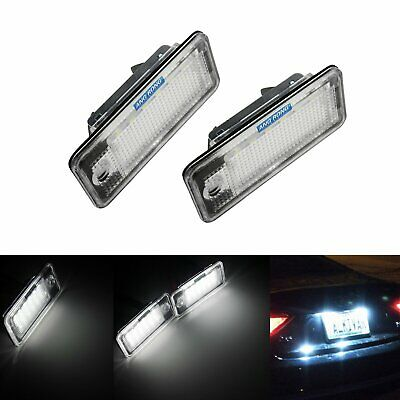Canbus SMD LED License Number Plate Light Lamp Audi A3 S3 8P Hatchback Cabriolet