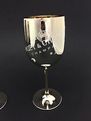 Moet Chandon Gold Ice Imperial Champagner Glas Acryl Limited Edition