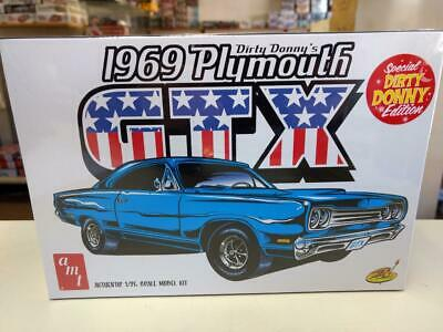 AMT 1065 Dirty Donny's 1969 Plymouth GTX model kit