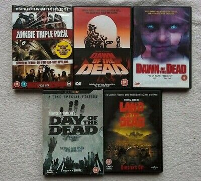 Day of the Dead DVD RARE 2 DISC SPECIAL EDITION ARROW + SURVIVAL + DIARY REMAKE