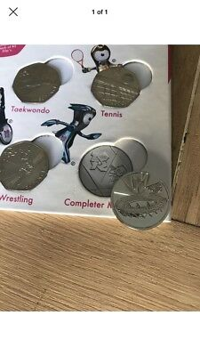 Olympic Completer Medallion London 2012