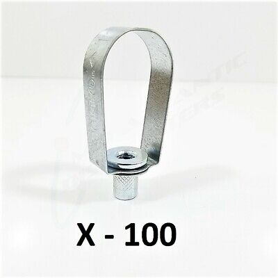 "100 Globe Non-Insulated Pipe Hanger 1"" Carbon Steel Swivel Ring 300-210"
