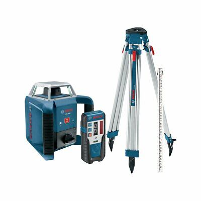 Bosch GRL400HCK 360-Degree Self-Leveling Rotary Laser Receiver/Tri-Pod/Rod Kit