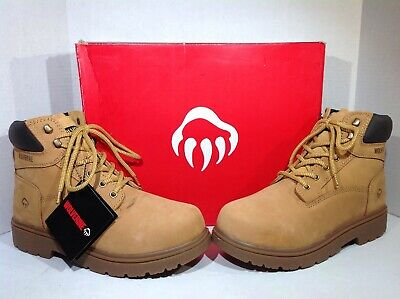 48e9ea1ed35 WOLVERINE CHEYENNE MENS Tan Leather Insulated Work/safety Boots Sz ...