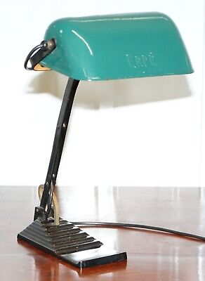 Original 1930's Erpe Belgium Industrial Factory Lamp Fully Serviced And Restored