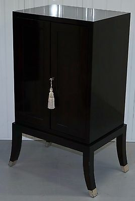 Chinese Lacquered Cabinet With Bank / Chest Of Drawers Inside Luxury Designer