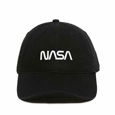 Retro NASA Logo Baseball Cap, Embroidered Dad Hat Unstructured Six Panel, Adjust