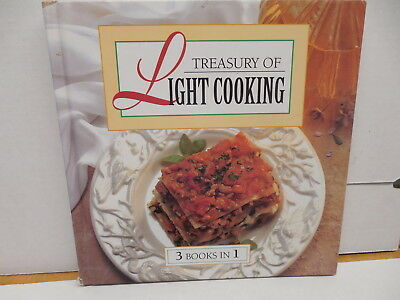 Treasury Of Light Cooking Recipe Guide Book Healthy Diet Ravioli Tacos Salads