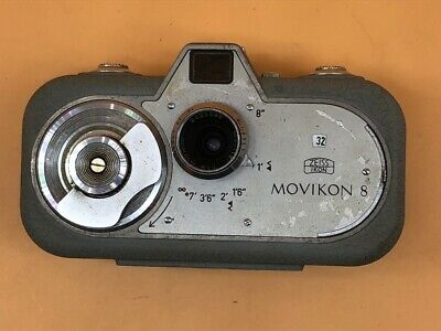 Zeiss Ikon Movicon 8 8mm Cine Camera In Working Order