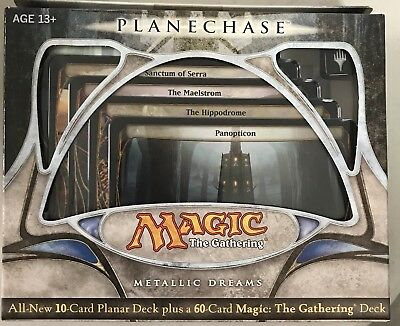 Magic the Gathering MTG Planechase 2009 Metallic Dreams Factory Sealed Deck
