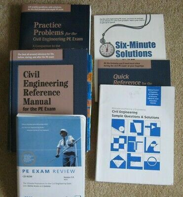PRACTICE PROBLEMS FOR the civil engineering PE exam, 11th Edition