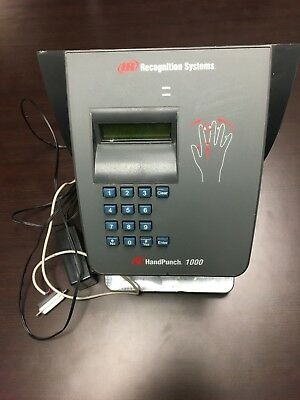 Recognition Systems HandPunch 1000