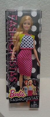 Fashionistas Blonde Barbie in Polka Dots