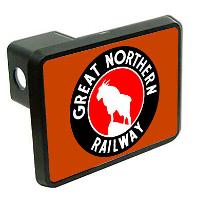 Great Northern Railway Logo Train Trailer Hitch Cover