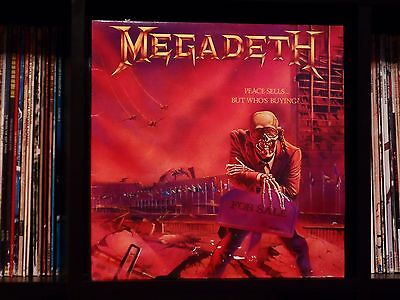 Megadeth ♫ Peace Sells But Who's Buying? ♫ RARE UK 1st Press NEAR MINT Top Copy!