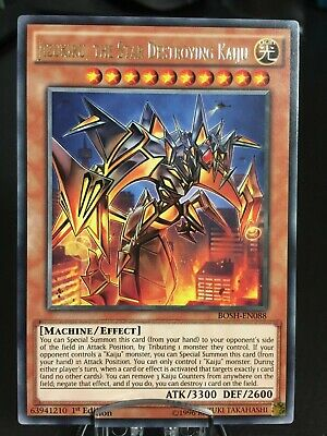 Yu-Gi-Oh Jizukiru, the Star Destroying Kaiju - BOSH-EN088 Rare B