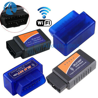 Mini ELM327 WiFi V2.1 OBD2 OBDII Car Diagnostic Scanner Code Reader Tool MT3608