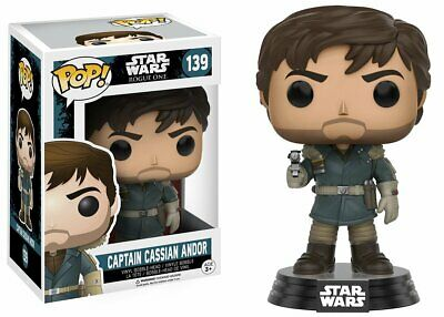 Star Wars Rogue one POP! Captain Cassian Andor N°139 Figurine vinyl Bobble-Head