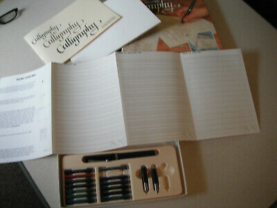 Sheaffer Calligraphy Set NONONSENSE Fountain Pen With 3 Nibs-Original Box