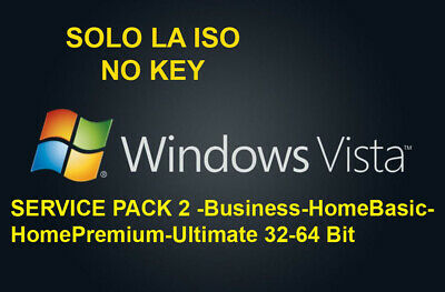 Windows Vista Business Home Basic Premium Ultimate Sp2 Solo Link X Download Iso