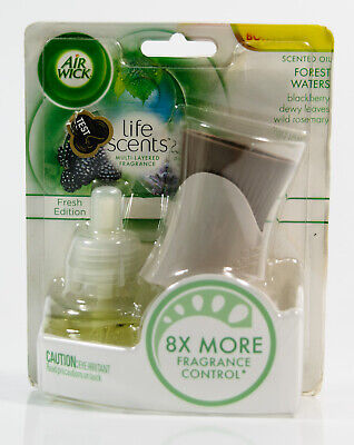 Air Wick Life Scents Scented Oil Refill & Warmer - FOREST WATERS