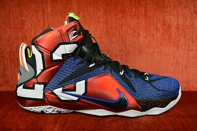 75b4c24f0c8 WORN ONCE NIKE LEBRON XII 12 SE WHAT THE MULTI-COLOR PHANTOM 802193-909