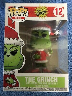 Funko Pop Vinyl Figure -Christmas Grinch in Santa Outfit - The Grinch #12 - New