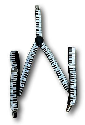 Vintage clip on musician's pianists braces 2.5cm piano keys SMALL