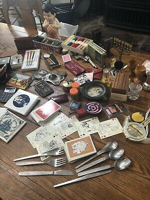 Junk Drawer Mysteries Vintage,Collectible,Unique Odds & Ends