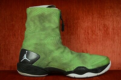 "best service b3a66 e349d WORN TWICE Nike Air Jordan XX8 28 ""Green Camo"" Electric 584832-301 Size"