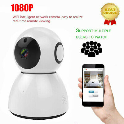 HD 1080P Vision Wireless WiFi Smart Home Security Camera Video Night Dog Monitor